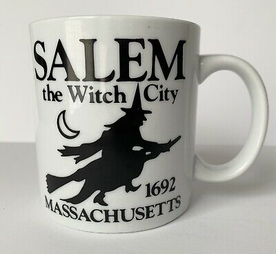 Witch City Salem Massachusetts Coffee Cup New Witchcraft Wicca