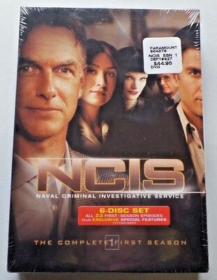 NCIS Naval Criminal Investigative Service The Complete 1st Season DVD 6 Disc NEW