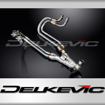 Honda St1100 Pan European 89-02 Stainless 4-2 Exhaust Downpipes Oem Compatible
