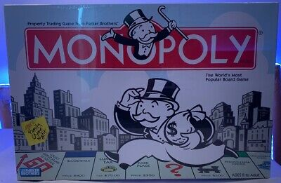 Monopoly Board Game 2004 Edition New Family Fun Activities NIB SEALED
