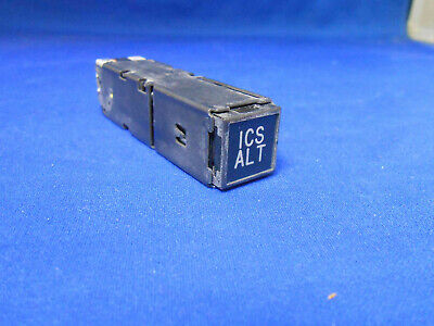 347A-25 Panex Push Switch Light 115.0Vac / 28.0Dcblk W/ Amber & Green Legen  Nos