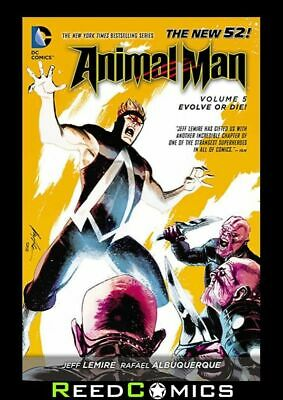 ANIMAL MAN VOLUME 5 EVOLVE OR DIE GRAPHIC NOVEL Paperback Collects (2011) #24-29