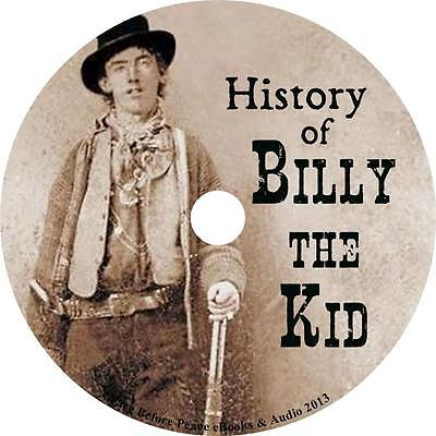 History of Billy the Kid Charles A Siringo Audiobook Western in English 1 MP3 CD