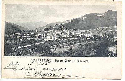 Mercatello  Sul Metauro  Fp  Viag 1906 Panorama   Bella