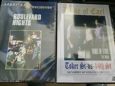 Boulevard Nights + Duke Of Earl 2 Chicano Gangster dvds For The Price of 1 Super
