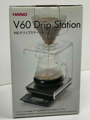 NEW Hario VSS-1T Acrylic Stand w/Drip Tray for V60 Coffee Dripper Free Shipping