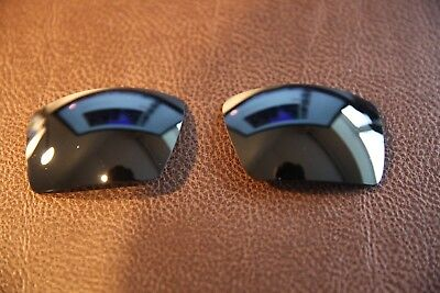PolarLens POLARIZED Black Replacement Lens for-Oakley Eyepatch 2 Sunglasses