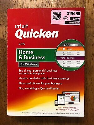 INTUIT QUICKEN DELUXE 2017 For Windows (New! Factory sealed retail