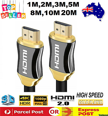 HighSpeed Premium Gold Plated HDMI Cable V2.0 3D4K Ultra HD Audio Return Channel