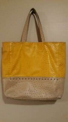 Big Buddha Women Large Tote Bag Purse with metal studs. Used but great shape