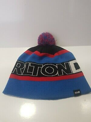 Carlton Dry FYVE Mens Beanie Official Promo Promotional Beer Brewery Blue Red