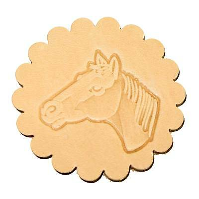 Horse Head Leathercraft 3-D Stamp (Left) 88364-00