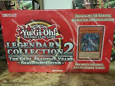Yu-Gi-Oh! Legendary Collection 2 LC02 Gameboard Version DEUTSCH! OVP NEU