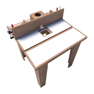 Router Table Plans DIY Woodworking Equipment Wood Cutting Shaper Build Your Own