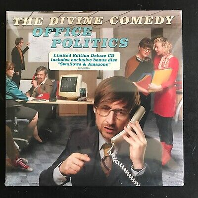 Divine Comedy - Office Politics 2019 2 x CD Special Edition Brand New Sealed