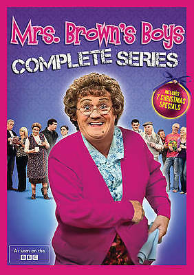 Mrs. Browns Boys: Complete Series (DVD, 2015, 8-Disc Set, Canadian)