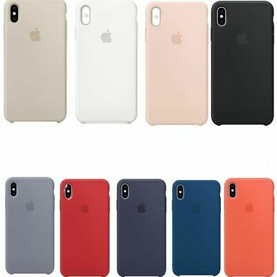 Apple Custodia Cover Per Iphone Xs Silicone Case Originale