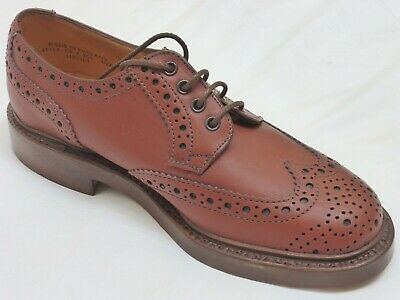 New!! English Bench Made Brogues Country Shooting Veldtschoen Tramping Shoes 7