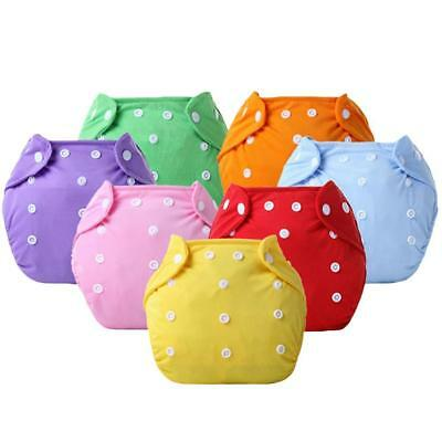 Kids Infant Reusable Washable Baby Cloth Diapers Nappy Cover Adjustable