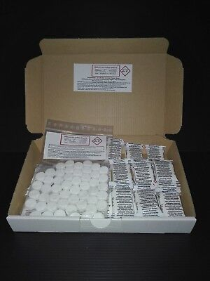 40 Cleaning + 20 Descaling Tablets For Siemens Bosch Miele Melitta Coffeemachine