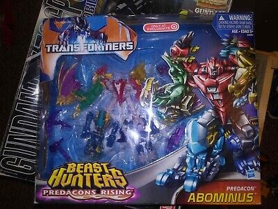TRANSFORMERS G1 REISSUE BEAST HUNTERS PREDACONS RISING ABOMINUS Collection
