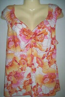 c85e698c3ed 3X Fashion Bug Top Tank Shell Womens Plus Dressy Career Sleeveless 3X 22/24