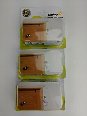 Safety 1st Furniture Wall Straps - 4 Straps (1 pack)