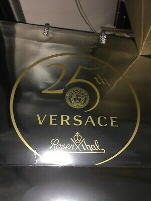 cd9ff695b5 VERSACE 25 Years celebration BAG SHOPPING PAPER EMPTY NEW gift wrap supply  sale