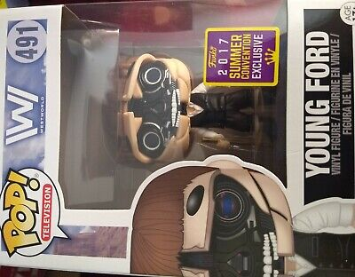 Funko Pop! Television: HBO WestWorld - Young Ford (2017 SDCC Exclusive) #491