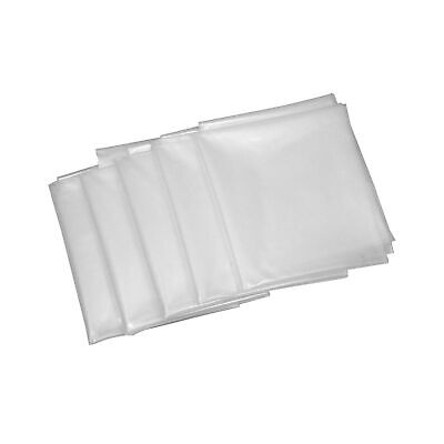 """Clear Plastic Dust Collector Bag 5 Pack 20"""" Diameter by 43"""" Long For Machines..."""
