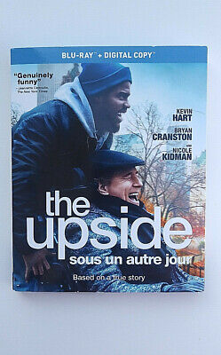 The Upside BLU RAY with Slip Cover- Based on True Story- BRAND NEW