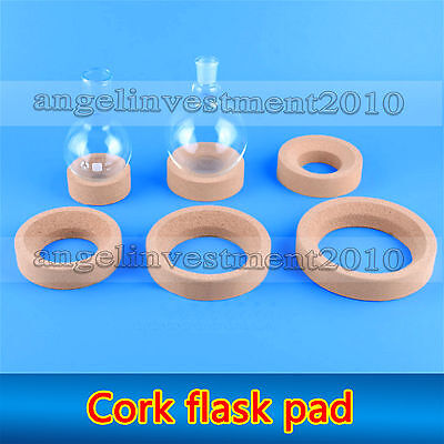 Ring cork flask pad stands used for laboratory 80 100 110 120 140 160 mm