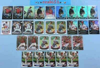 2013~2016 LUCAS GIOLITO Rookie-Prospect Lot x 29 RC Bowman Chrome Topps Update +