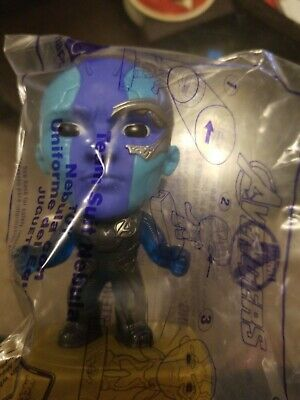 Team Suit Nebula #9 Figure Avengers Endgame Marvel 2019 McDonalds Toy Happy Meal