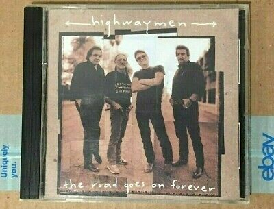Highwaymen - The Road Goes On Forever - CD - Liberty Records - 1995