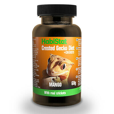 HabiStat Crested Gecko Diet Real Mango With Added Crickets 60g