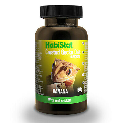 HabiStat Crested Gecko Diet Real Banana With Added Crickets 60g