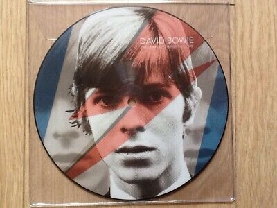 """David Bowie . The Shape Of Things To Come 7"""" Picture Disc , New Unplayed"""