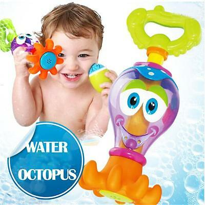Floated Bath Toys Baby Octopus Kids Boy Infant Toddlers Learn Play Fun Toys 6A