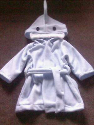 Child's / Adult Personalised Shark Dressing Gown. New. kids nightwear. Animal