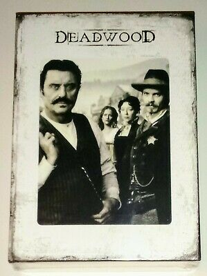 Brand New! Deadwood: The Complete Hbo Series 1-3. 19 Disc Dvd Box Set. Free Ship