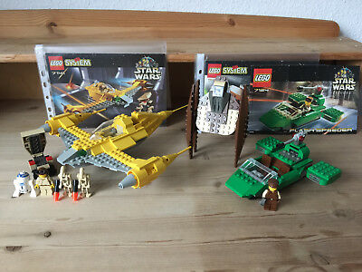 LEGO Star Wars Episode I Sammlung - Naboo Fighter (7141) + 7124 + 7111