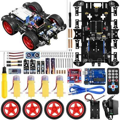 UNIROI for Arduino Smart Robot Car Kit with 4 Wheel Red