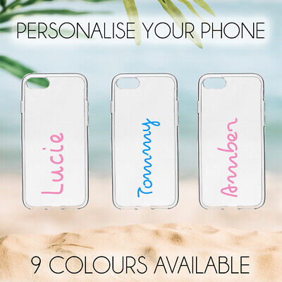 Love Island Personalised Name Sticker for PHONE CASE Holiday 2019. 9 Colours