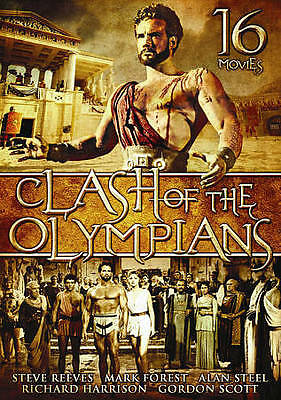 """""""Clash of the Olympians"""" (DVD, 2010, 4-Disc Set, 16 MOVIES ) - NEW!!"""