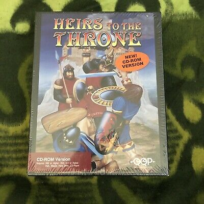 New/Sealed - Heirs To The Throne - Pc - Big Box - Rare