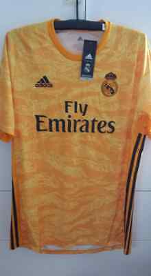 653aa1737ef Adidas Real Madrid 2019-20 Men GK Goalkeeper Football Soccer Shirt Jersey  DW4438