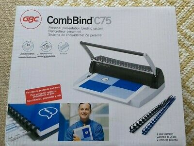 CombBind C75 boxed Comind