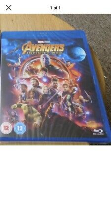 Sealed Marvel Avengers Infinity War  [Blu-ray]