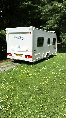 Bailey Pageant Bordeux 4 Berth 2008 Fixed Bed